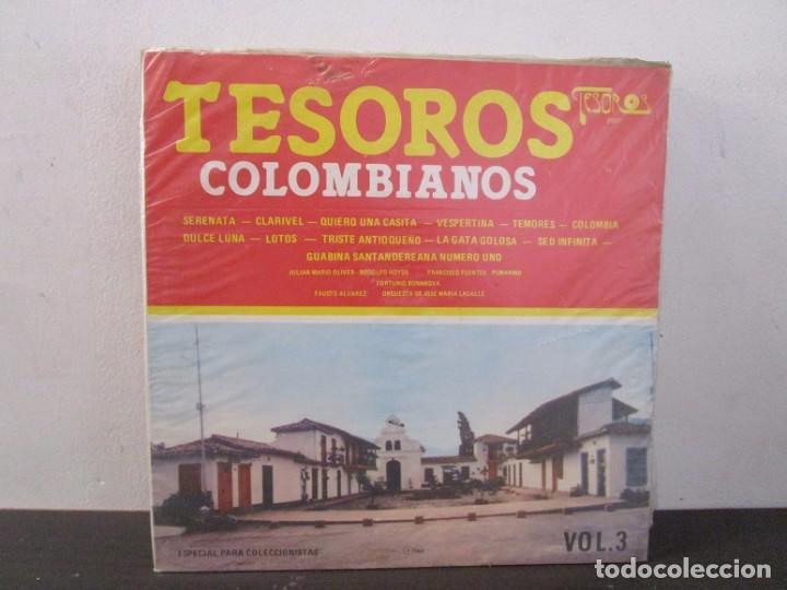 TESOROS COLOMBIANOS 1984 VOL.3 VINILO LP T62 VG (Música - Discos - LP Vinilo - Otros estilos)