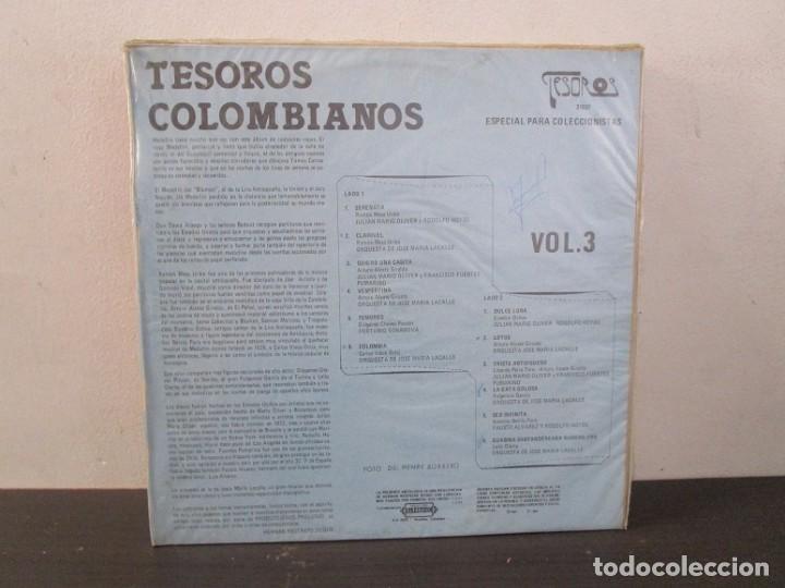 Discos de vinilo: Tesoros Colombianos 1984 Vol.3 Vinilo Lp T62 VG - Foto 2 - 67511637