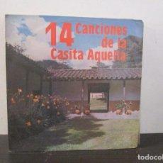 Discos de vinilo: 14 CANCIONES DE LA CASITA AQUELLA 1990 VINILO LP T62 VG. Lote 67514777