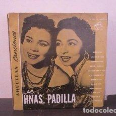 Discos de vinilo: LAS HERMANAS PADILLA RCA VICTOR VINILO LP T62 VG. Lote 67522273