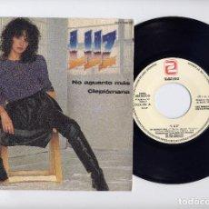 Disques de vinyle: LUZ CASAL PROMO 45 RPM NO AGUANTO MAS Y CLEPTOMANA ZAFIRO. Lote 67526689