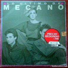 Discos de vinilo: MECANO: LO ÚLTIMO DE MECANO, LP CBS 450193 1, SPAIN, 1996. VG+/VG. PEGATINA EN PORTADA.. Lote 67545037