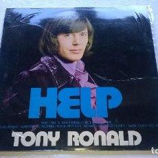 Discos de vinilo: TONY RONALD - HELP - MOVIEPLAY AÑO 1971 . Lote 67573521