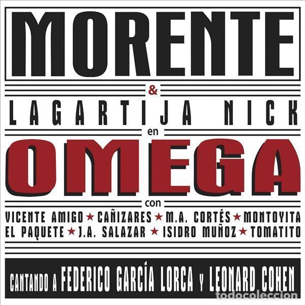 2LP MORENTE LAGARTIJA NICK OMEGA VINILO LEONARD COHEN FEDERICO GARCIA LORCA (Música - Discos - LP Vinilo - Grupos Españoles de los 90 a la actualidad)