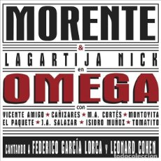Discos de vinilo: 2LP MORENTE LAGARTIJA NICK OMEGA VINILO LEONARD COHEN FEDERICO GARCIA LORCA. Lote 189136725
