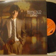 Discos de vinilo: FRANCISCO LATINO LP POLYDOR 1982. Lote 67601017
