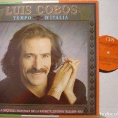 Discos de vinilo: LUIS COBOS TIEMPO D ITALIA LP CBS 1987. Lote 67603169