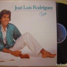 Discos de vinilo: JOSE LUIS RODRIGUEZ VEN LP EPIC 1983. Lote 67604501