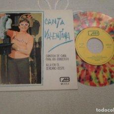 Discos de vinilo: CANTA VALENTINA - CANCION DE CUNA PARA UN CORDERITO. Lote 219982415