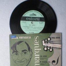 Discos de vinilo: BELO MARQUES - MUSICA PORTUGUESA - EP PORTUGUES ESTORIL 1950S. Lote 67615777