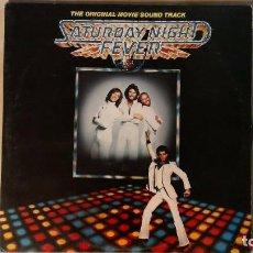Discos de vinilo: SATURDAY NIGHT FEVER - 2LP'S 1977 RSO UK. Lote 67627697