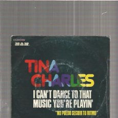 Dischi in vinile: TINA CHARLES DANCE MUSIC. Lote 67642709
