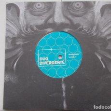 Discos de vinilo: DÚO DIVERGENTE / EL PALACIO DE LINARES - CLUB DEL SINGLE DE DISCOS WALDEN - EP - 2014. Lote 67646669