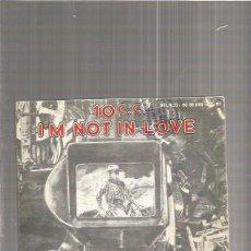 Discos de vinilo: 10 CC NOT IN LOVE. Lote 67646921