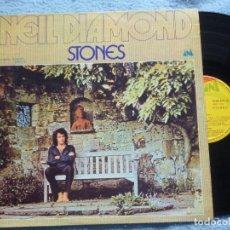 Discos de vinilo: NEIL DIAMOND,STONES EDICION ESPAÑOLA DEL 71. Lote 178049935