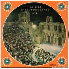 Discos de vinilo: THE BEST OF BOUZOUKI SONGS Nº 5 - ODEON. Lote 67659745