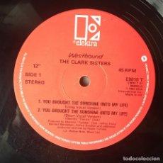Discos de vinilo: THE CLARK SISTERS - YOU BROUGHT THE SUNSHINE (INTO MY LIFE) . MAXI SINGLE . 1983 UK . Lote 67666493