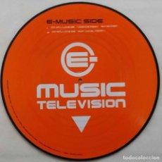 Discos de vinilo: MUSIC TELEVISIONDO YOU LOVE ME. MAXI-SINGLE PICTURE DISC. DISCO IMPRESO 4 TEMAS. Lote 67666965