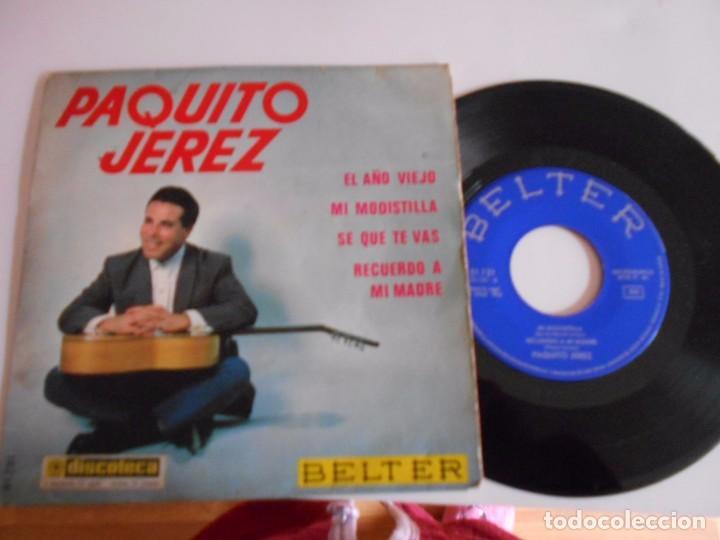 PAQUITO JEREZ-EP MI MODISTILLA +3 1964 (Música - Discos de Vinilo - EPs - Flamenco, Canción española y Cuplé)
