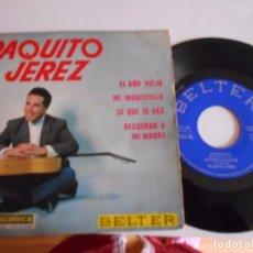 Discos de vinilo: PAQUITO JEREZ-EP MI MODISTILLA +3 1964. Lote 67683417