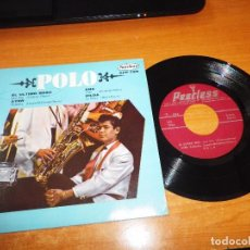 Discos de vinilo: POLO EL ULTIMO BESO / AYER / ANA / HILDA EP VINILO MEXICO 19666 ROCK EN ESPAÑOL DISCOS PEERLESS. Lote 67683905