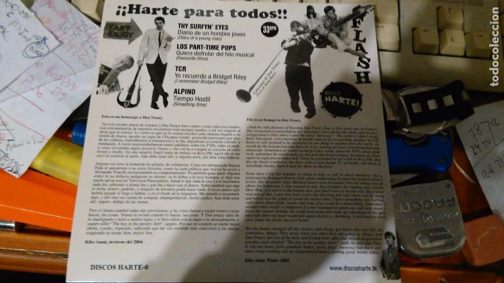 Discos de vinilo: ¡Harte para todos! Ep.alpino.tcr.los part-time pops.thy surfyn eyes.españa 2004.rareza - Foto 2 - 67691213