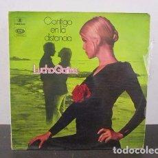 Discos de vinilo: LUCHO GATICA CONTIGO EN LA DISTANCIA VINILO LP T66 VG. Lote 67701893