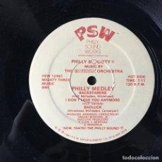 Discos de vinilo: MONTANA ORCHESTRA - PHILLY MEDLEY . 1981 USA . Lote 67709433