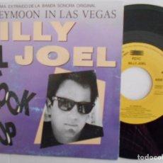 Discos de vinilo: BILLY JOEL-SINGLE BSO DEL FILM HONEYMOON IN LAS VEGAS PROMO-UNA CARA-1992. Lote 67720849