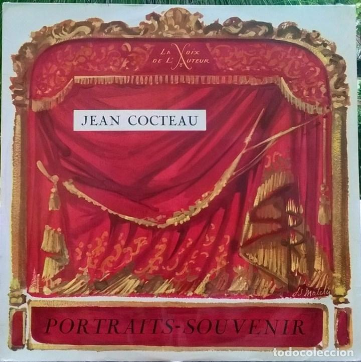 JEAN COCTEAU. PORTRAITS- SOUVENIR. LA VOIX DE L'AUTEUR LVA 23, FRANCE 1963 LP (Música - Discos - LP Vinilo - Otros estilos)