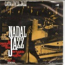 Discos de vinilo: CATALONIA JAZZ QUARTET: CATALUNYA JAZZ/NADAL: EL CANT DELS OCELLS /EL DESEMBRE CONGELAT + 2 J.FORNAS. Lote 67723941