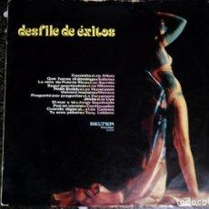 Discos de vinilo: - DESFILE DE ÉXITOS - VINILO. LP DE - BELTER - 22.600. ESPAÑA 1971.. Lote 67724633