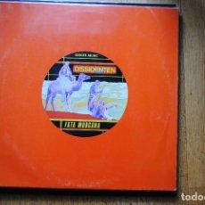 Discos de vinil: DISSIDENTEN. FATA MORGANA + CASABLANCA. GINGER MUSIC 1985, PERFECTO. Lote 67728689