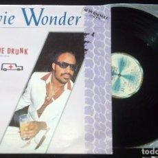 Discos de vinilo: STEVIE WONDER - DON´T DRIVE DRUNK (MAXISINGLE). Lote 67737961