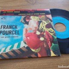 Discos de vinilo: FRANCK POURCEL, UN PREMIER AMOUR,. Lote 67740749