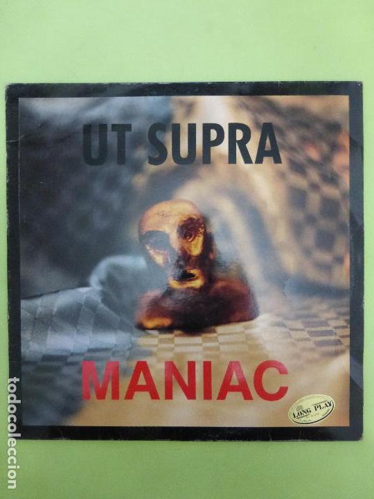 UT SUPRA - MANIAC - NEOTEK RECORDS VALENCIA - NEO-MANIAC - INDUSTRIAL, EBM, SYNTH-POP (Música - Discos de Vinilo - Maxi Singles - Electrónica, Avantgarde y Experimental)