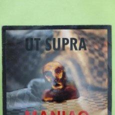 Discos de vinilo: UT SUPRA - MANIAC - NEOTEK RECORDS VALENCIA - NEO-MANIAC - INDUSTRIAL, EBM, SYNTH-POP. Lote 67753041