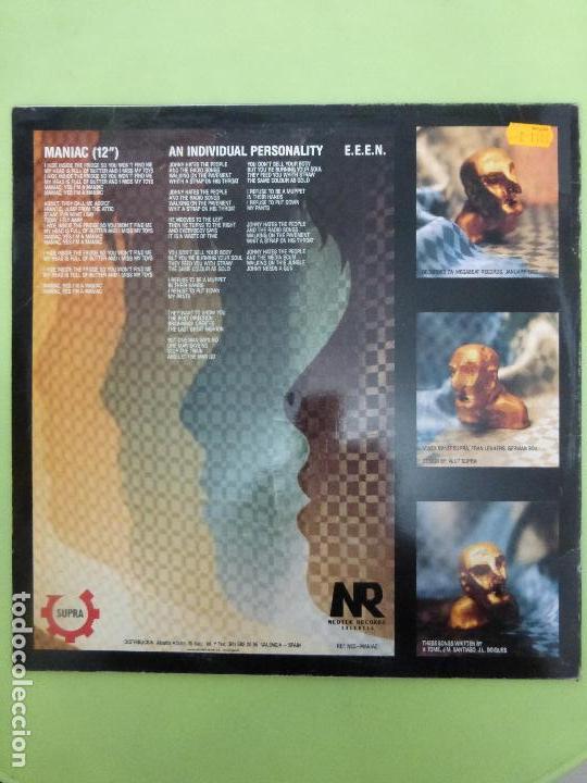 Discos de vinilo: Ut Supra - Maniac - Neotek Records Valencia - NEO-MANIAC - Industrial, EBM, Synth-Pop - Foto 3 - 67753041
