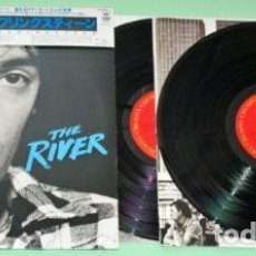 Discos de vinilo: LP DOBLE JAPONÉS DE BRUCE SPRINGSTEEN - THE RIVER. Lote 67761401