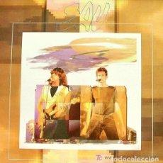 Discos de vinilo: SAU: TU ENCENS EL MEU FOC/HAS PERDUT/AIXO ES POT SALVAR/TREN DE MITJANIT PROMO 1991,C.SABATER,P.SALA. Lote 67763793