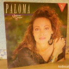 Discos de vinilo: DISCO DE VINILO - LP - PALOMA SAN BASILIO - QUIEREMÉ SIEMPRE - HISPAVOX - 1990. Lote 67769973