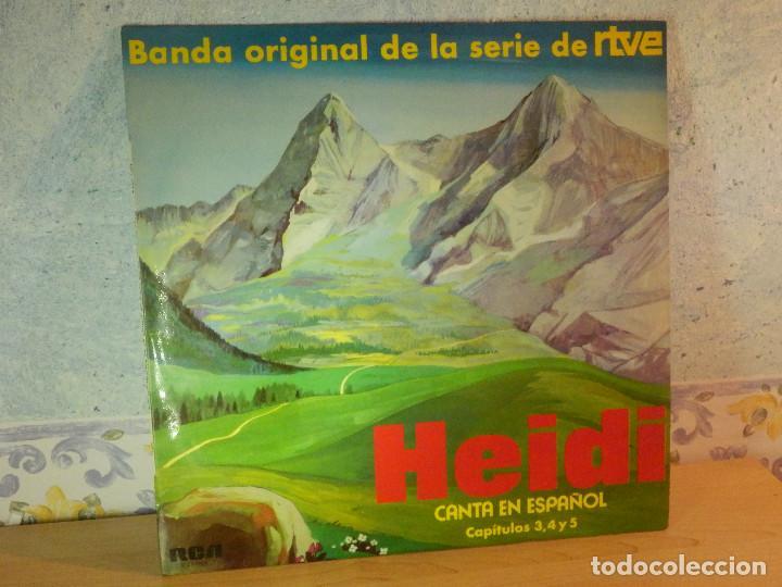 DISCO DE VINILO - LP - HEIDI - RCA - ESPAÑOL CAPITULOS 3, 4 Y 5 (Música - Discos - LPs Vinilo - Música Infantil)