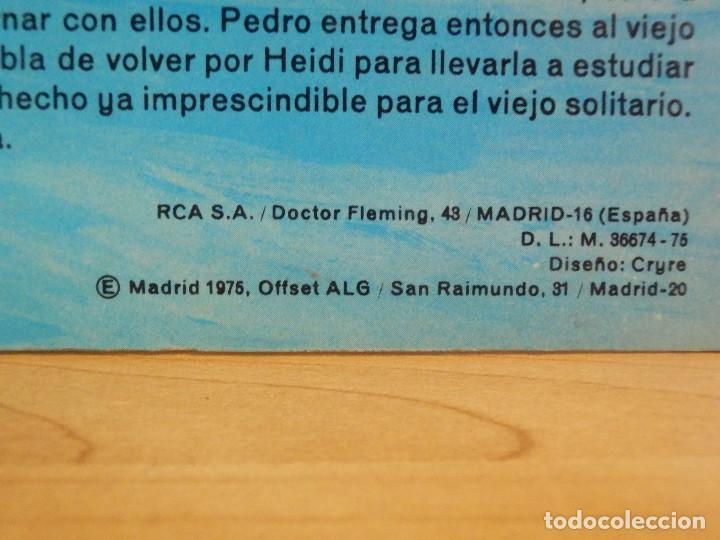 Discos de vinilo: Disco de Vinilo - LP - Heidi - RCA - Español Capitulos 3, 4 y 5 - Foto 6 - 67771889
