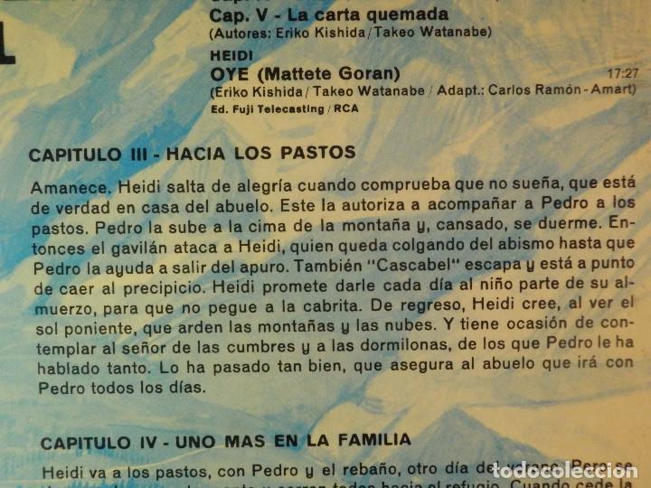 Discos de vinilo: Disco de Vinilo - LP - Heidi - RCA - Español Capitulos 3, 4 y 5 - Foto 8 - 67771889