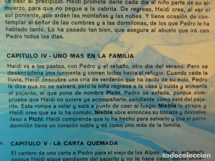 Discos de vinilo: Disco de Vinilo - LP - Heidi - RCA - Español Capitulos 3, 4 y 5 - Foto 9 - 67771889