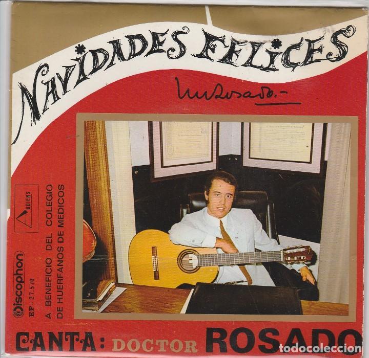 NAVIDAD - DOCTOR ROSADO (NAVIDADES FELICES) EP 1970 (Música - Discos de Vinilo - EPs - Otros estilos)