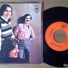 Discos de vinilo: TREBOL - MUSICA ERES TU / COGIDOS DE LA MANO . Lote 67818321