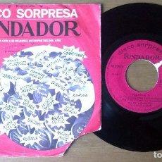 Discos de vinilo: FORMULA V -AYER Y HOY / TENGO TU AMOR / CUENTAME / SOLO SIN TI (EP DE FUNDADOR,1970). Lote 67821909