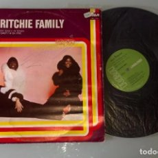 Discos de vinilo: THE RICHIE FAMILY (LP RECOPILATORIO ,INCLUYE THE BEST DISCO IN THE TOWN). Lote 67832253