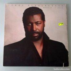 Discos de vinilo: TEDDY PENDERGRASS -WORKIN´IT BACK , LP. Lote 67833773
